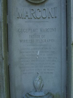 Marconi Marker Photo, Click for full size