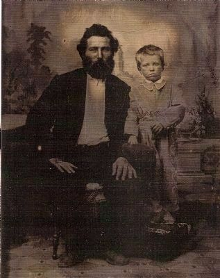 Jacob and His Son Henry Frederick Bergman Photo, Click for full size