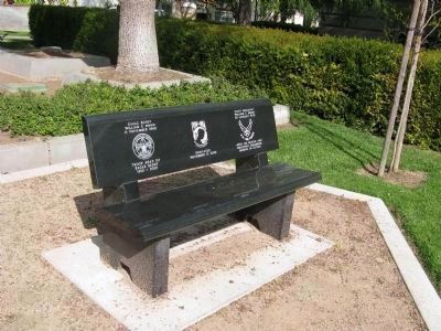 William C. Shinn Memorial Bench image. Click for full size.