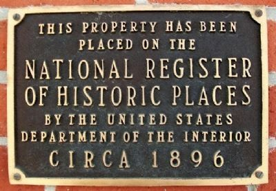 Brown Hotel National Register Marker Photo, Click for full size