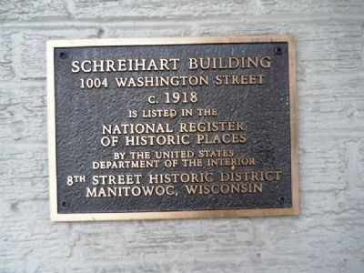 Schreihart Building Marker image. Click for full size.