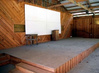 The Lewis Family Pavilion Stage image. Click for full size.