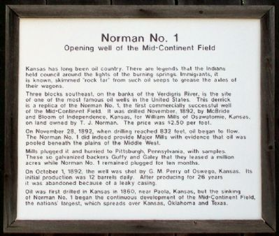 Norman No. 1 Marker Photo, Click for full size