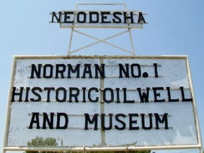 Norman No. 1 Museum Sign Photo, Click for full size
