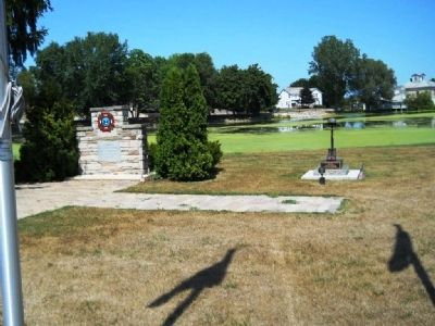 Kiel Veterans Park Marker Photo, Click for full size