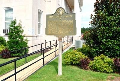 Chattooga County Marker image. Click for full size.