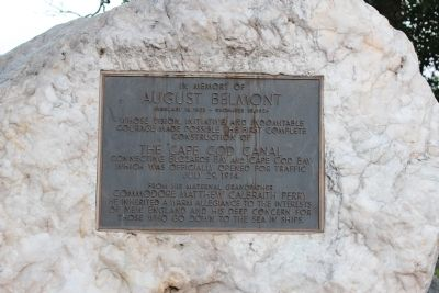 August Belmont Marker image. Click for full size.