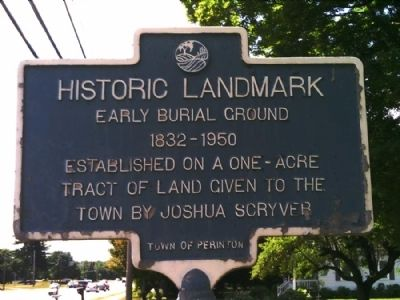 Historic Landmark Marker Photo, Click for full size