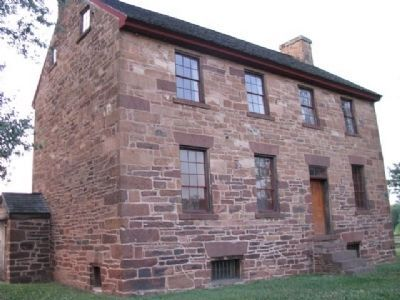 Stone House – Battlefield Landmark image. Click for full size.