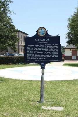 Alligator Marker Photo, Click for full size