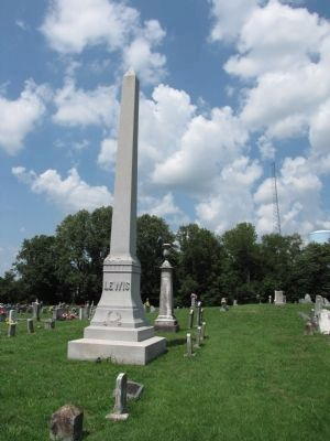 Lewis Family graves Photo, Click for full size