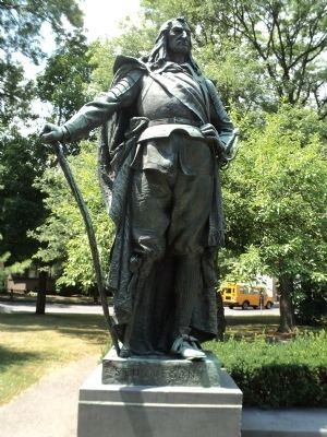 Peter Stuyvesant Statue Photo, Click for full size