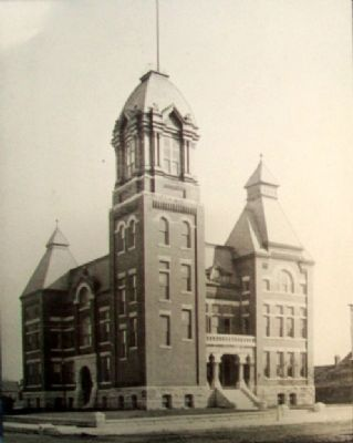 Jasper County Courthouse Marker image. Click for full size.