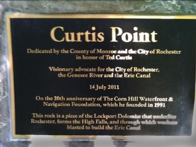 Curtis Point Marker image. Click for full size.