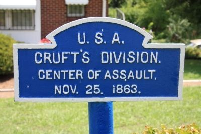 Cruft's Division Marker Photo, Click for full size