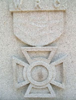 Civil War Memorial Women's Relief Corps Emblem image. Click for full size.