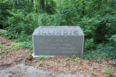 56th Illinois Marker Photo, Click for full size