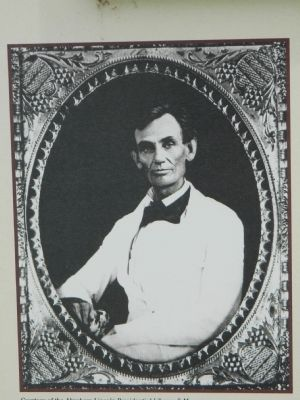 Lincoln Photograph image. Click for full size.