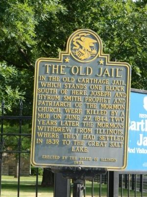 "The ""Old Jail"" Marker image. Click for full size."