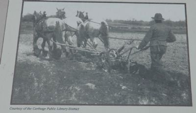 Plowing with horses image. Click for full size.