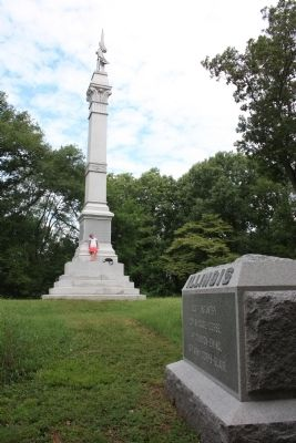 103rd Illinois Marker Photo, Click for full size