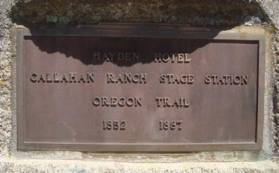 Hayden Hotel Marker Photo, Click for full size