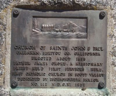 Church of Saints John & Paul Marker Photo, Click for full size