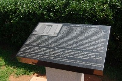 The Georgia Guidestones Marker Photo, Click for full size