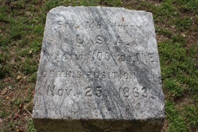 6th Missouri Infantry Marker Photo, Click for full size