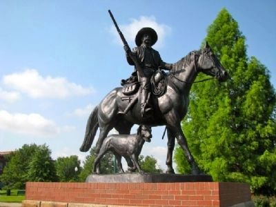 Bass Reeves - Lawman on the Western Frontier Statue image. Click for full size.