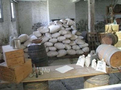 Inside Old Commissary Museum Photo, Click for full size