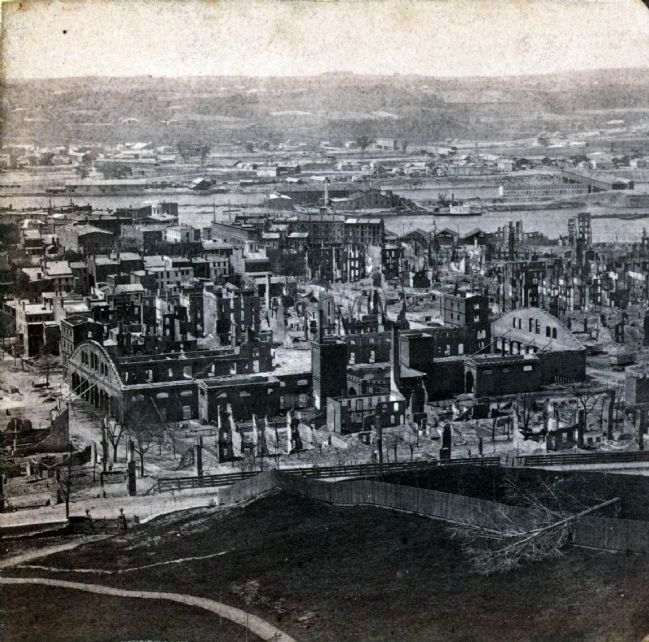 Troy After the Great Fire image. Click for full size.