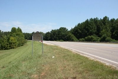 Coosa Marker Northbound View image. Click for full size.