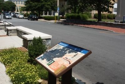 Spirit of 1775 Beeline March to Cambridge Marker along S King Street Photo, Click for full size