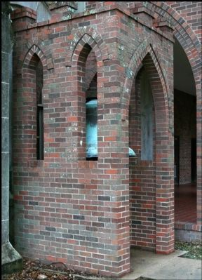 Eaton Memorial Chapel Bell Chamber image. Click for full size.