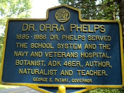 Dr. Orra Phelps Marker image. Click for full size.