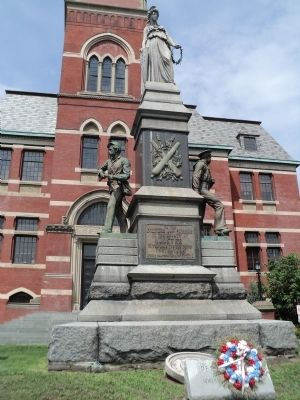 Ulster County Civil War Monument Photo, Click for full size