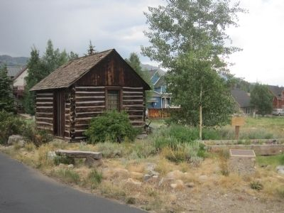 Father Dyer Cabin image. Click for full size.