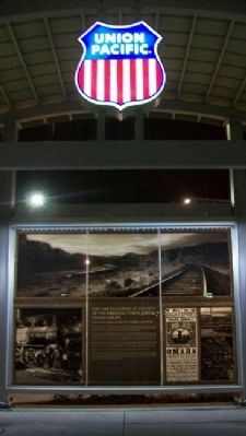 Site of Union Pacific's Omaha Shops Monument image. Click for full size.