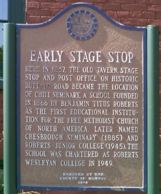 Early Stage Stop Marker image. Click for full size.