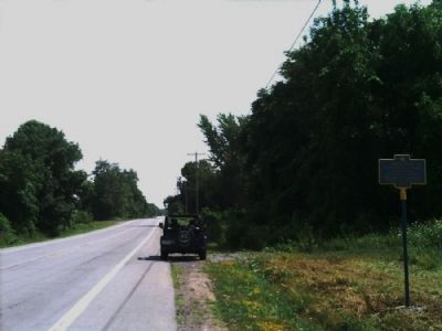 South Avon Marker as seen facing south on 39 Photo, Click for full size