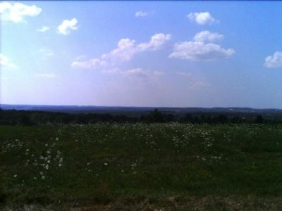 The view facing west from the South Avon Marker Photo, Click for full size