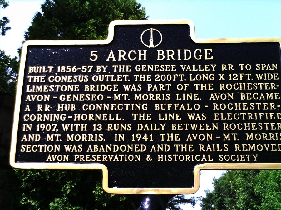 5 Arch Bridge Marker