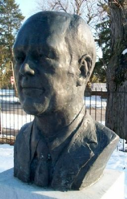 President Gerald R. Ford Bust Photo, Click for full size