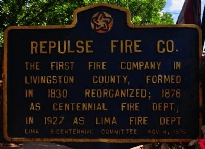 Repulse Fire Co. Marker image. Click for full size.