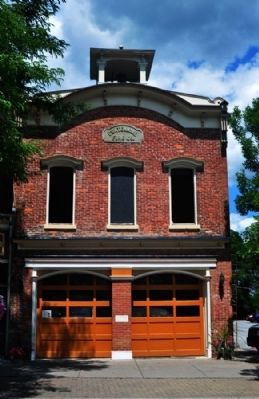 Centennial Fire Company Building Today image. Click for full size.