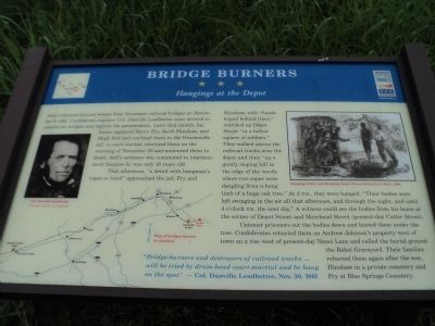 Bridge Burners Marker image. Click for full size.