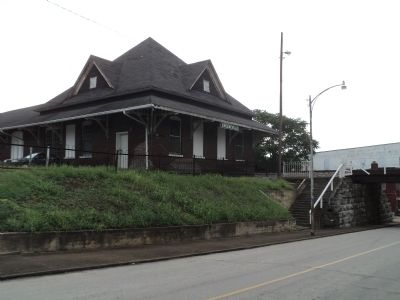 Greeneville Railroad Depot image. Click for full size.