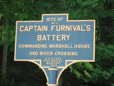 Captain Furnival's Battery Marker image. Click for full size.