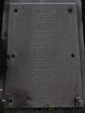 1668-1709 Marker Photo, Click for full size